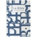 """Bible en français courant bleu-blanc"""