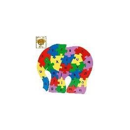 """""""puzzle éléphant"""" Artisanat-sel"""