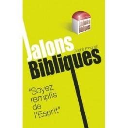 """""""Jalons bibliques, Soyez rempli de l'Esprit"""" par André Pinguet"""