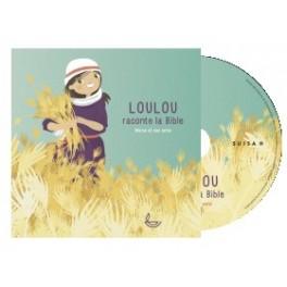 """""""Loulou raconte la bible tome 2, Moïse et ses amis, CD"""" par Zwahlen Pierre-Yves et Loetscher Jenay"""