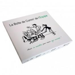 """""""La Boîte de Comm' de l'Equipe - Mieux se connaître pour mieux agir ensemble !"""""""