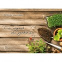 """Le regard du jardinier"" par Priscille Hunziker"