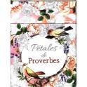 """""""Pétales de Proverbes""""  Cartes à colorier"""