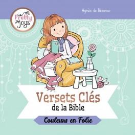 """""""Versets clés de la Bible - Couleurs en Folie"""" par Agnès de Bézenac"""