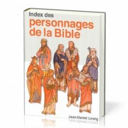 """""""Index des personnages de la Bible"""" par Jean-Daniel Linsig"""