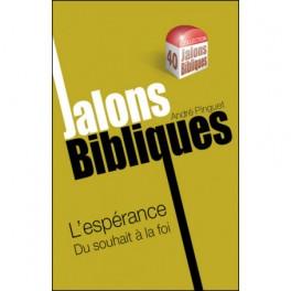 """""""Jalons Bibliques - L'espérance Du souhait à la foi"""" par André Pinguet"""