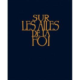 """""""Sur les ailes de la foi""""  Recueil de chant-couverture rigide, bleu"""