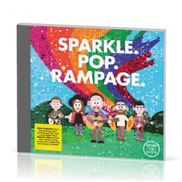 """Sparkle. Pop. Rampage"" CD - Rend Co. Kids"