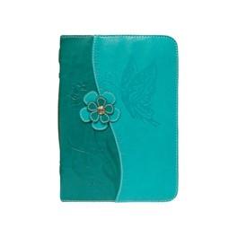 """""""Fourre de bible similicuir turquoise 75983023589"""""""