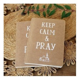 "Carnet de notes: ""Keep calm &Pray"""