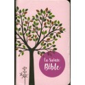 """""""Bible Segond 1910 - La Sainte Bible -compacte souple similcuir beige rose"""""""