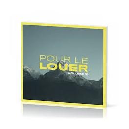 """""""Pour le louer vol. 10"""" CD"""