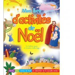 """""""Mon livre d'activité de Noêl"""" par James Bethan et Krisztina Kalla Nagy"""