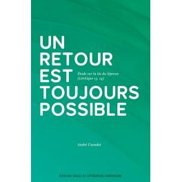 """""""Un retour est toujours possible"""" par André Cundet"""