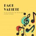 """""""Pack variété, 8 CDs"""""""