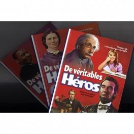 """""""De véritables héros"""" 3 volumes"""