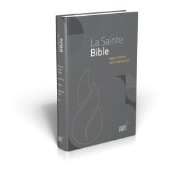"""""""Bible d'étude Segond Neg à parralèle, illustrée, rigide"""""""