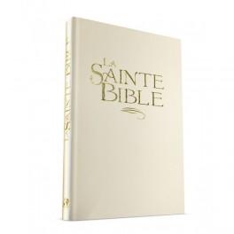 """""""Bible 904 Confort, rigide blanc, tranche or"""""""