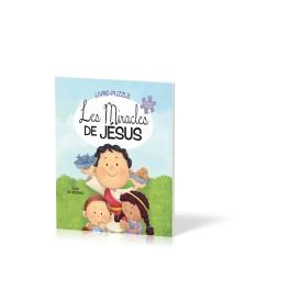 """""""Les miracles de Jésus - Livre-puzzle"""" par Agnès de Bezenac"""