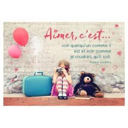 """Aimer, c'est..."" par Segens Art"
