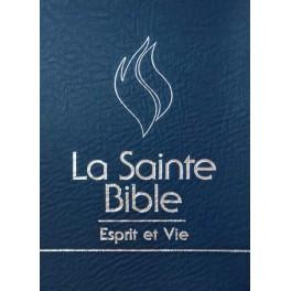 """""""Bible Esprit et vie - Edition Nuit PV bleu"""""""