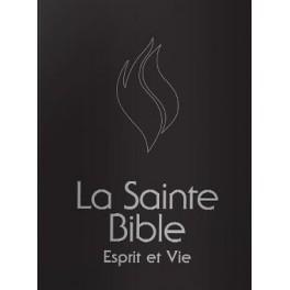 """""""Bible Esprit et vie - couverture rigide noire"""""""