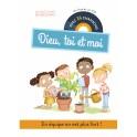 """""""Dieu, toi et moi - Un livre et un CD avec 14 chansons"""" par Agnès de Bezenac - Salem de Bezenac"""