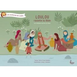 """""""Loulou raconte la bible, les disciples parlent de Jésus, tome 5"""" par  Zwahlen Pierre-Yves et Loetscher Jenay"""