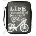 """""""Fourre de bible , Life is a beautiful journey with God"""" par Swanson"""