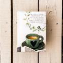 """"""" La tasse de café"""" - carnet pour écrire"""""""