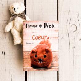 """"""" L'amour de Dieu est versé dans nos cœurs"""" - carnet pour écrire"""""""