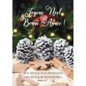 """""""Carte Pommes de pin et décorations de Noël"""""""""""