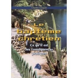 """""""Le baptême chrétien"""" par Charles Gisquet"""